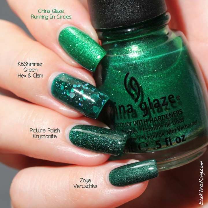 Emerald Polishes