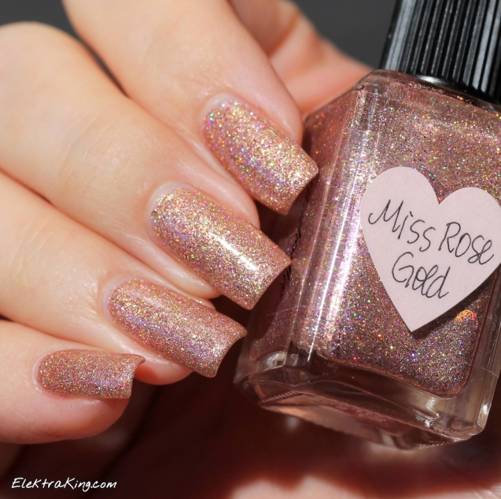 Lynnderella Miss Rose Gold