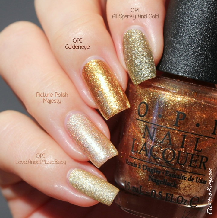 Gold Polishes