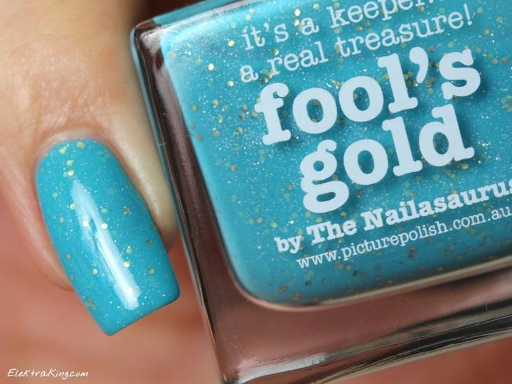 Picture Polish Fool's Gold & Zoya Tomoko