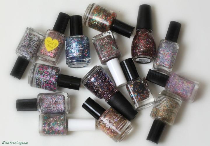 Holiday Glitter Polishes