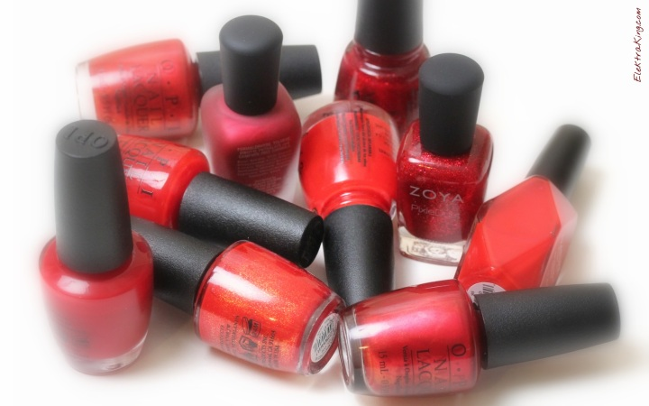 Holiday Red Polishes