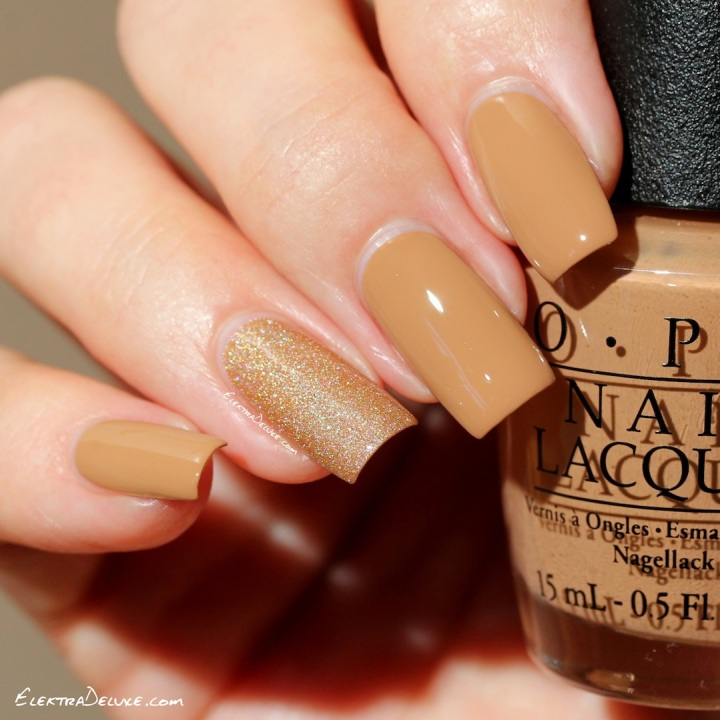 OPI Going My Way or Norway? & OPI DS Classic