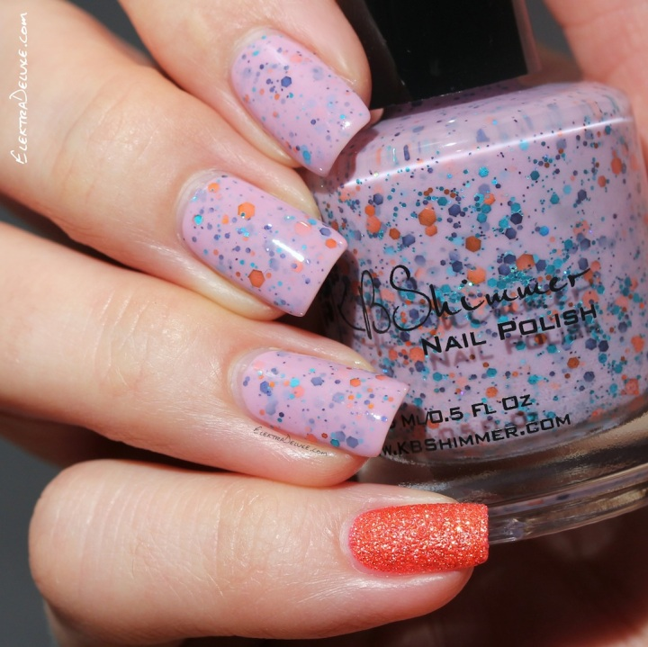 KBShimmer Mauve On Over, Winter 2014 Collection