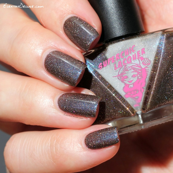 SuperChic Lacquer Mmm Chocolate Snocaps
