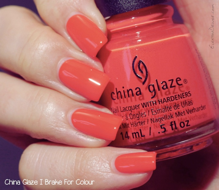 China Glaze I Brake For Colour, Road Trip Collection 2015
