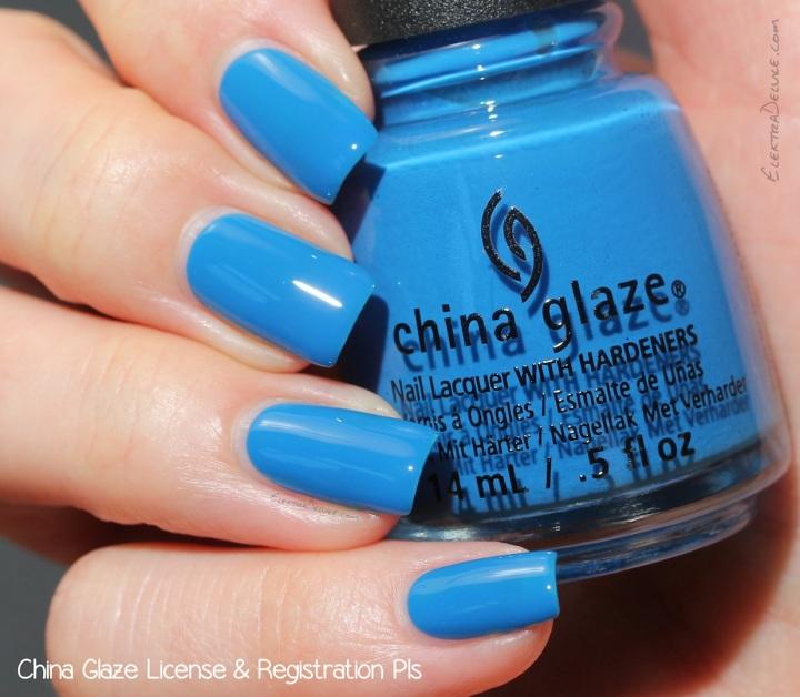 China Glaze License & Registration Pls, Road Trip Collection Spring 2015