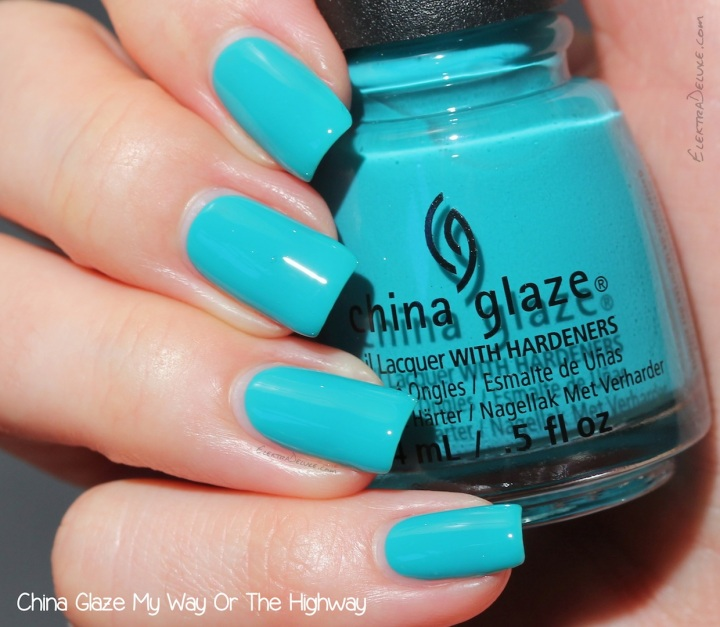 China Glaze My Way Or The Highway, Road Trip Collection 2015