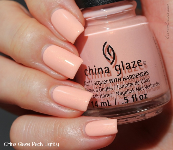 China Glaze Pack Lightly, Road Trip Collection Spring 2015