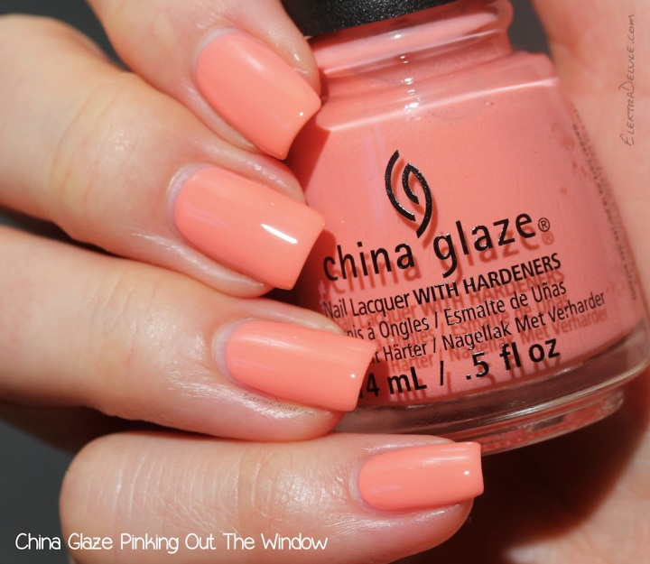 China Glaze Pinking Out The Window, Road Trip Collection Spring 2015