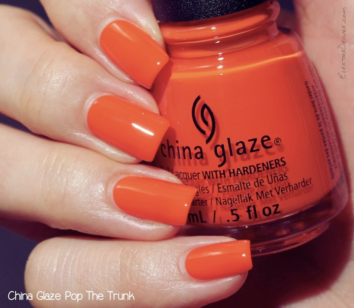China Glaze Pop The Trunk, Road Trip Collection Spring 2015