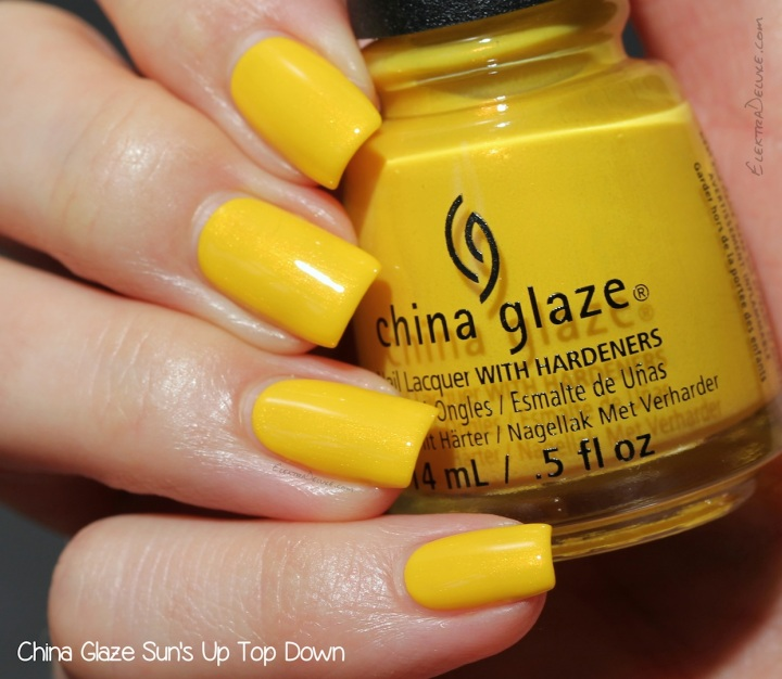 China Glaze Sun's Up Top Down, Road Trip Collection Spring 2015