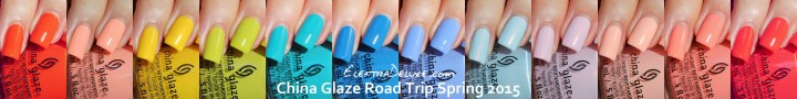 China Glaze Road Trip Spring 2015