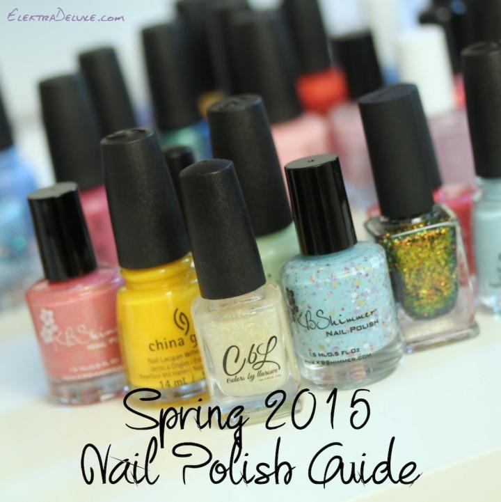 Spring 2015 Nail Polish Guide