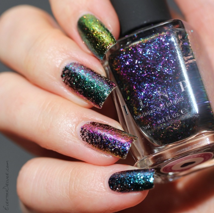 ILNP Ultra Chrome Flakies: Brilliance, Supernova, Luna, Cold Fusion