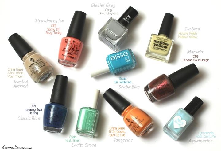 Pantone Spring 2015 Trend Colors