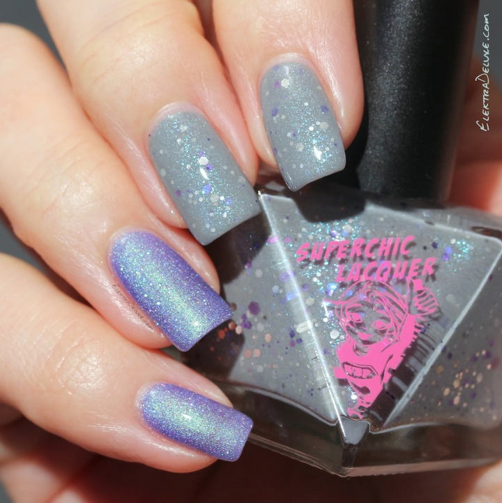 SuperChic Lacquer Chasing Shadows & Liquid Nitro Queen