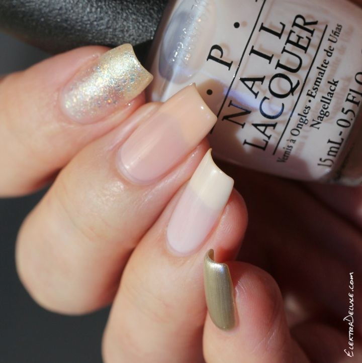 OPI Soft Shades 2015: OPI Make Light of the Situation, OPI Act Your Beige!, OPI Put it in Neutral, OPI This Silver's Mine!