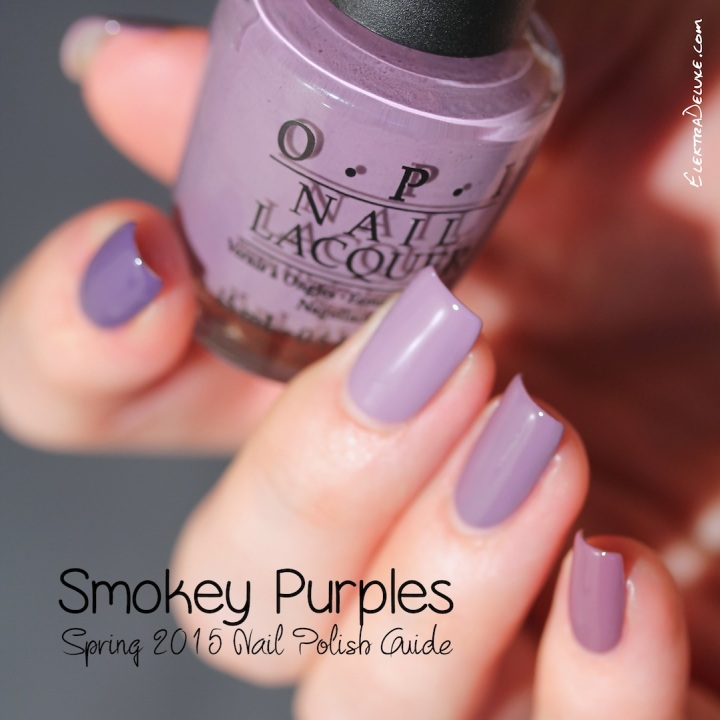 Smokey Purples - Nail Polish