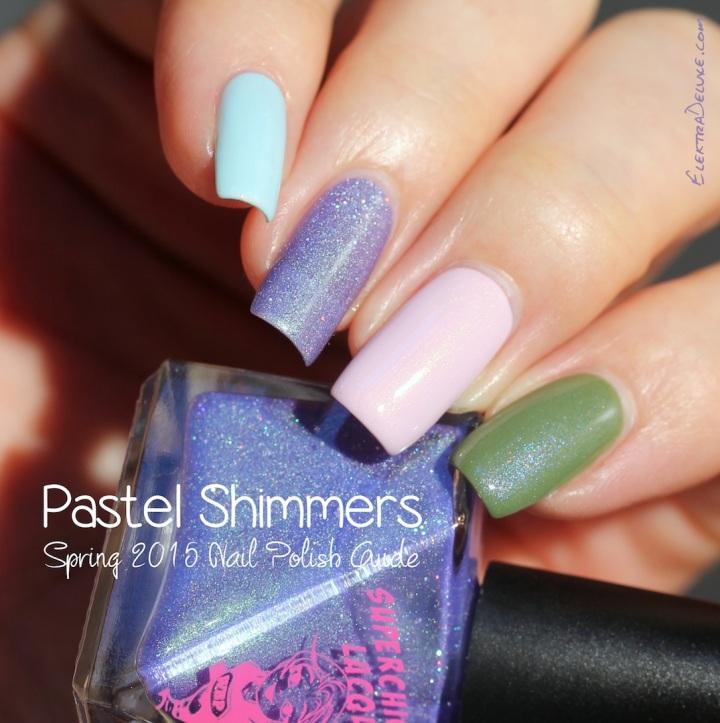 Pastel Shimmer Nail Polish