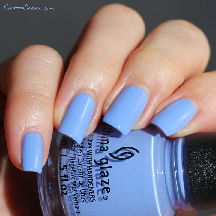 China Glaze Boho Blues, Road Trip Collection Spring 2015