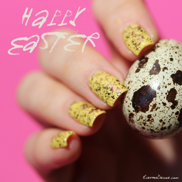 Easter Manicure with Chanel Mimosa & ILNP Paradoxal (H)