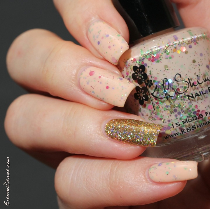 KBShimmer To Peach His Own
