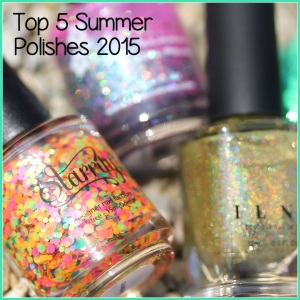 Top 5 Summer 2015: China Glaze Treble Maker, KBShimmer Pink-a Colada, Starrily Gumballs, OPI Go With The Lava Flow, ILNP Money Bin