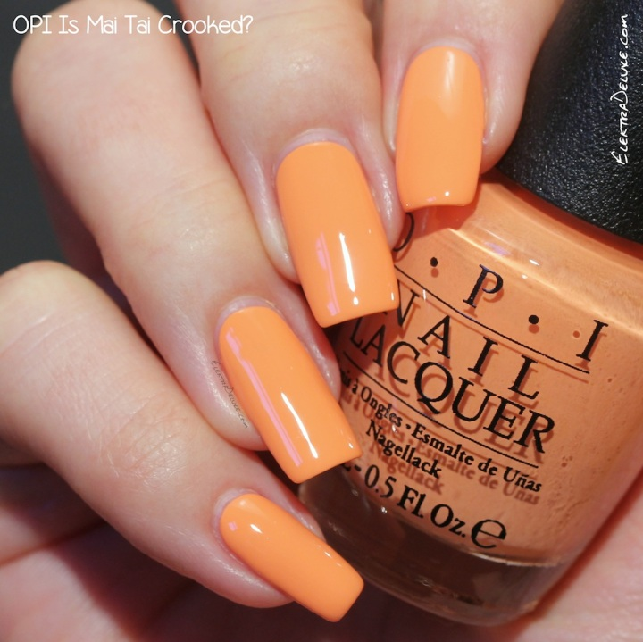 OPI Is Mai Tai Crooked?, Hawaii Collection Spring 2015