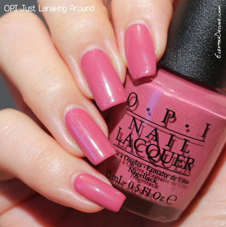 OPI Just Lanai-ing Around, Hawaii Collection Spring 2015