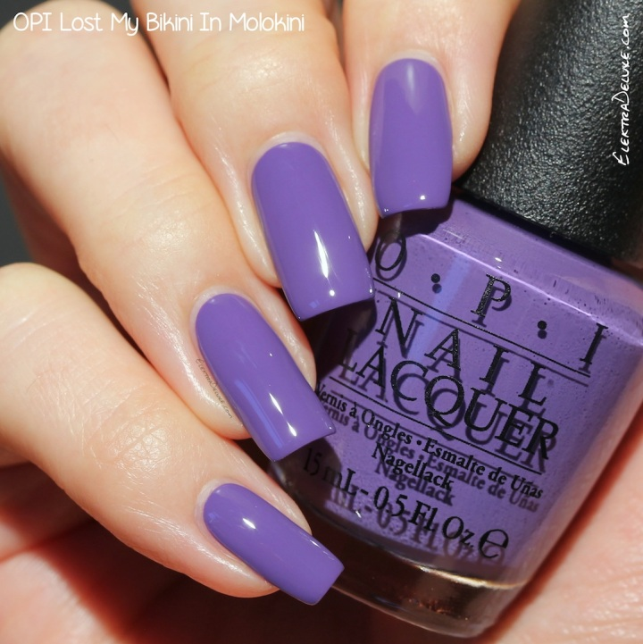 OPI Lost My Bikini In Molokini, Hawaii Collection Spring 2015