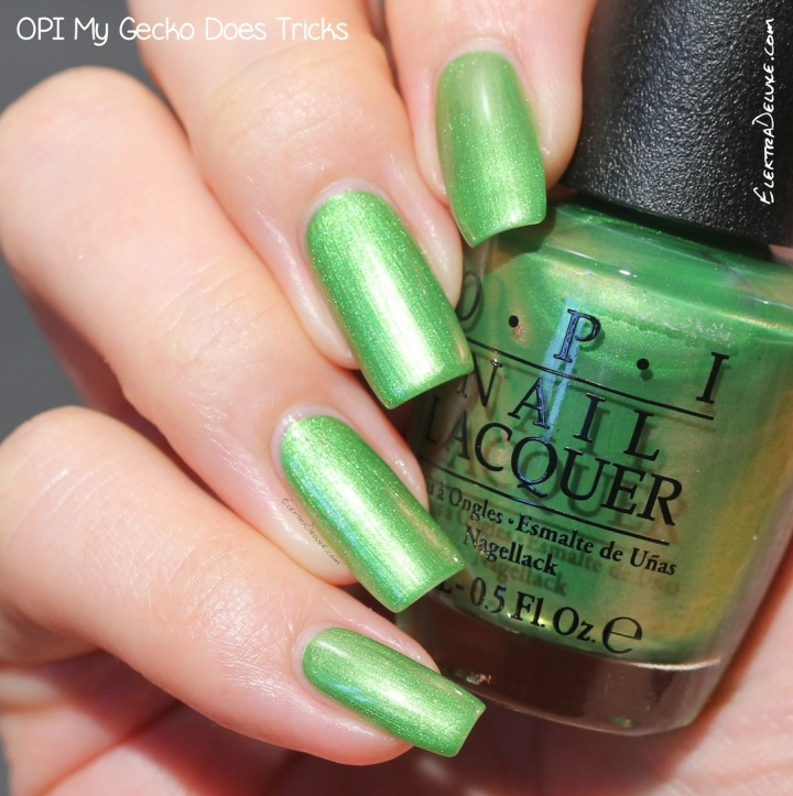 OPI My Gecko Does Tricks, Hawaii Collection Spring 2015