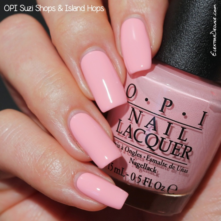 OPI Suzi Shops & Island Hops, Hawaii Collection Spring 2015