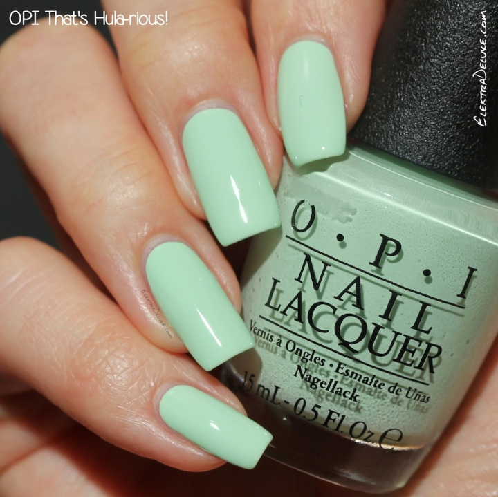 OPI That's Hula-rious!, Hawaii Collection Spring 2015