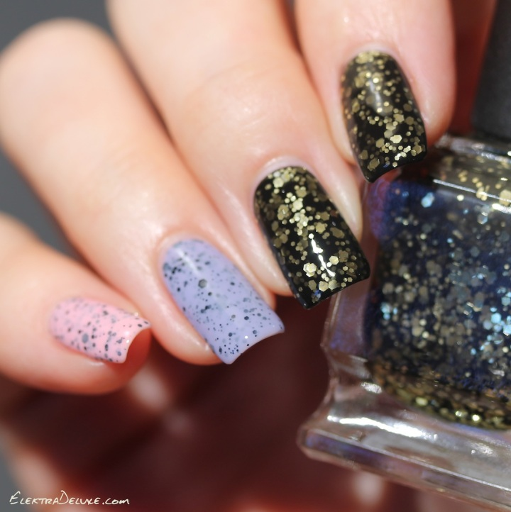 Deborah Lippmann Cleopatra In New York, Models Own Swan, Models Own Dove, Speckled Eggs Collection