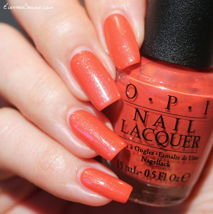 OPI Go With The Lava Flow, Hawaii Collection Spring 2015