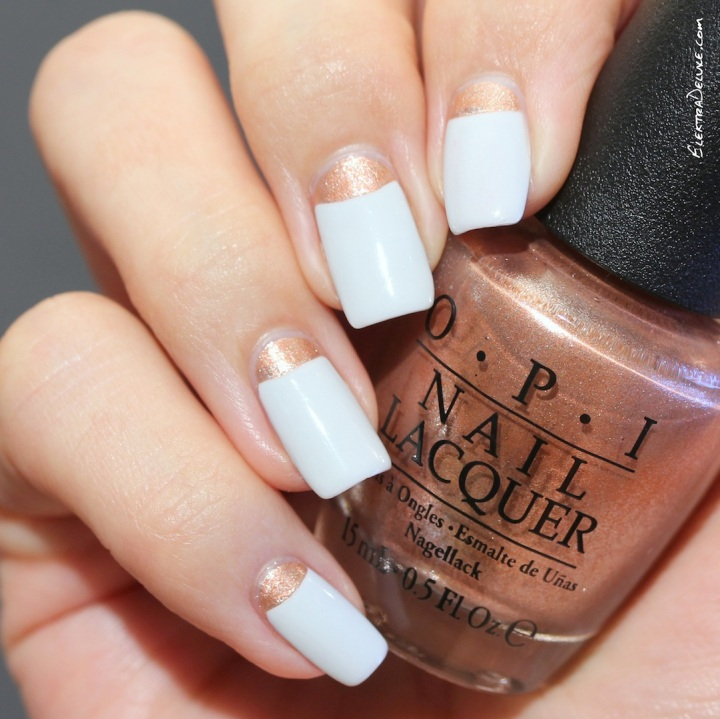 OPI Venice Half Moon: Worth a Pretty Penne & I Cannoli Wear OPI