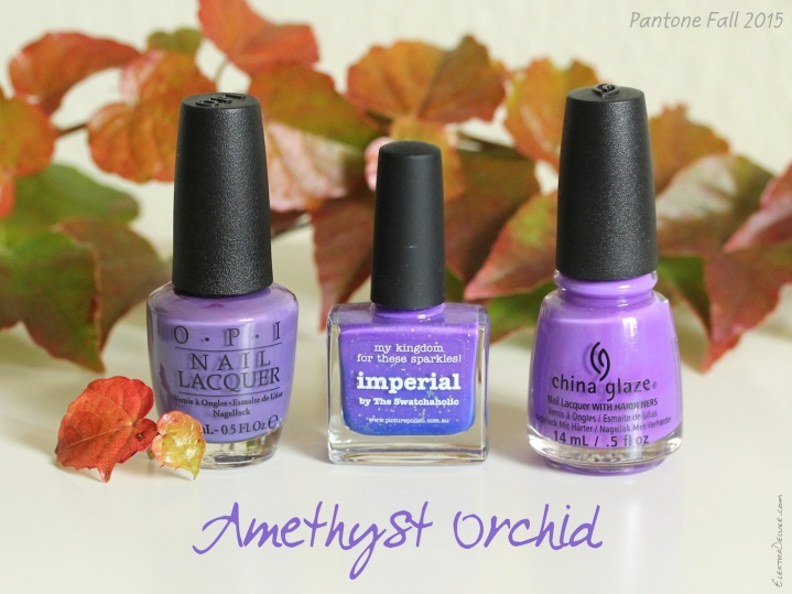 Amethyst Orchid - Pantone Colors Fall 2015