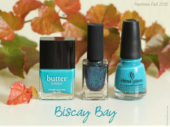 Biscay Bay - Pantone Colors Fall 2015