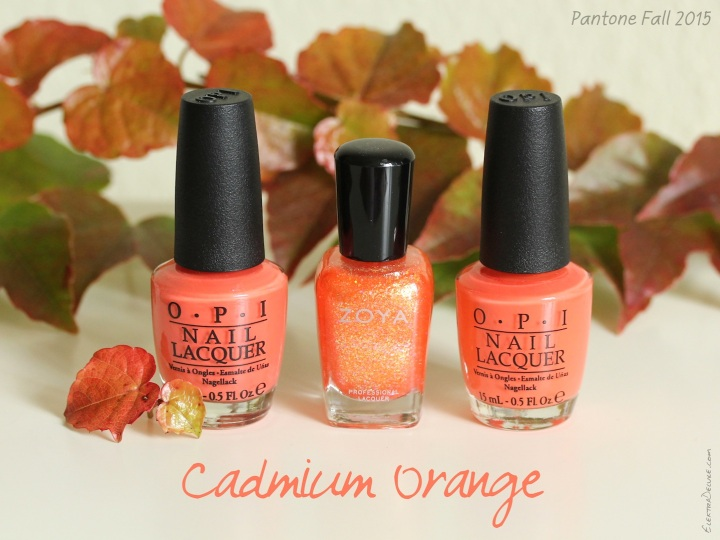 Cadmium Orange - Pantone Colors Fall 2015