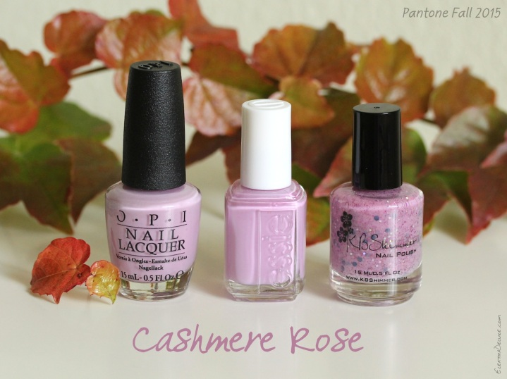 Cashmere Rose - Pantone Colors Fall 2015