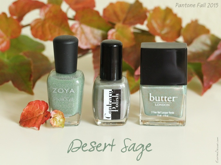 Desert Sage - Pantone Colors Fall 2015