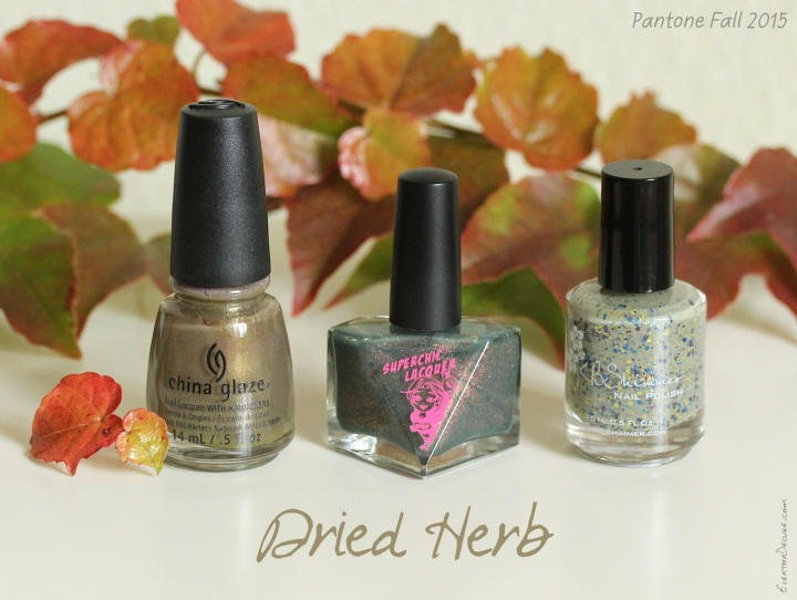 Dried Herb - Pantone Colors Fall 2015
