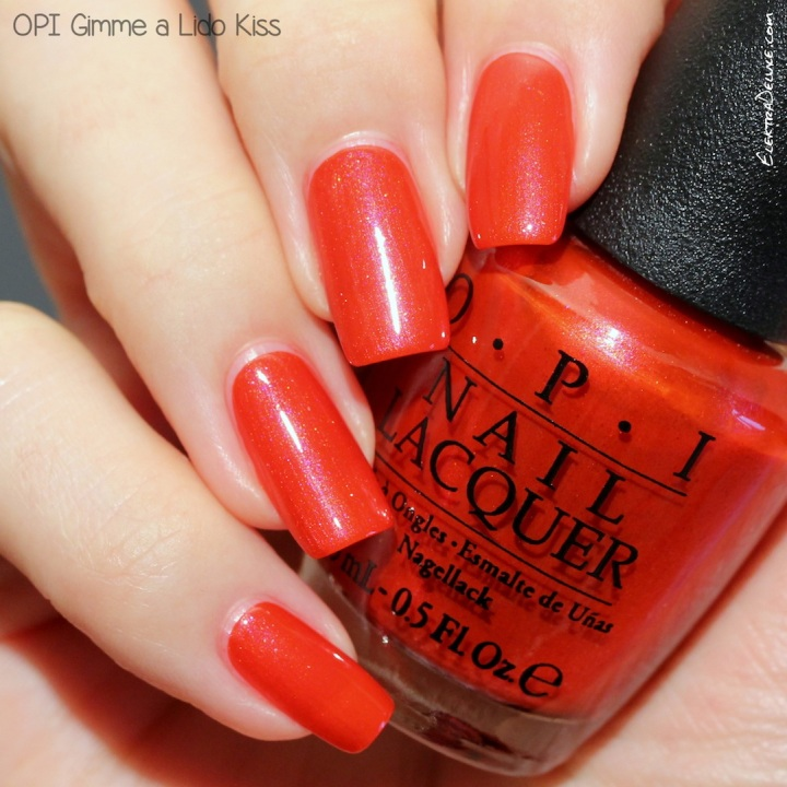 OPI Gimme a Lido Kiss, Venice Collection Fall 2015