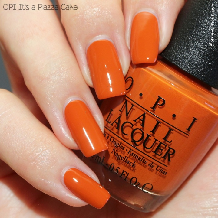 OPI It's a Piazza Cake, Venice Collection Fall 2015