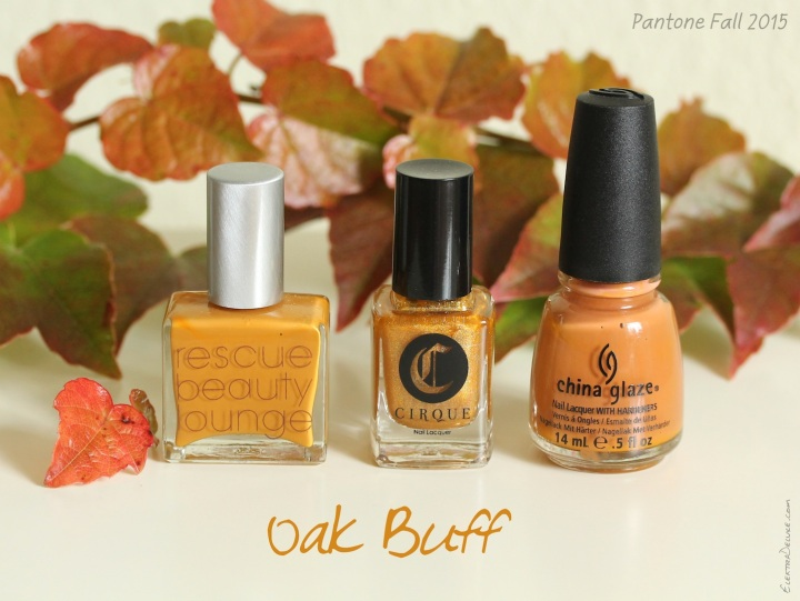 Oak Buff - Pantone Colors Fall 2015