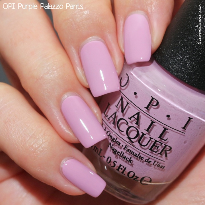 OPI Purple Palazzo Pants, Venice Collection Fall 2015