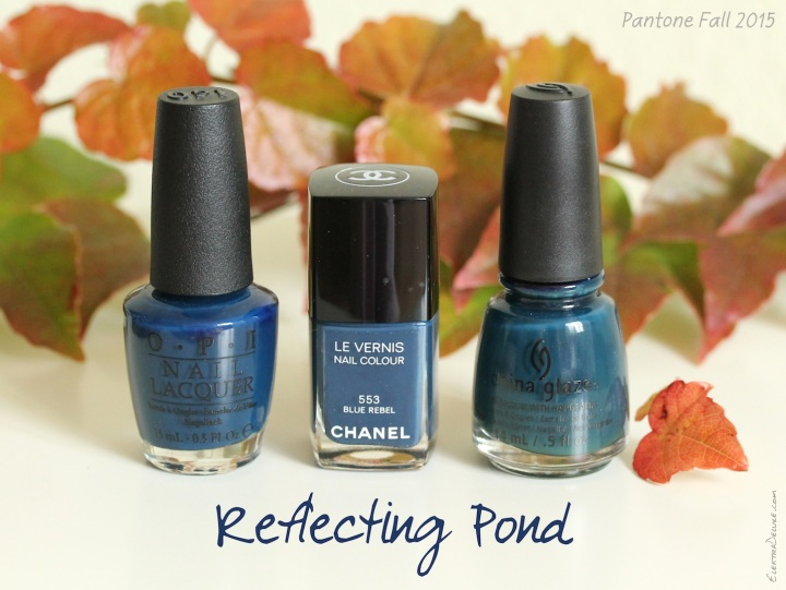 Reflecting Pond - Pantone Colors Fall 2015