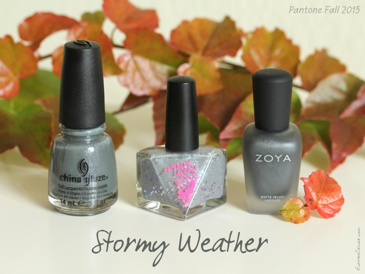 Stormy Weather - Pantone Colors Fall 2015
