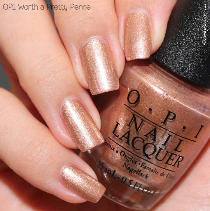 OPI Worth a Pretty Penne, Venice Collection Fall 2015